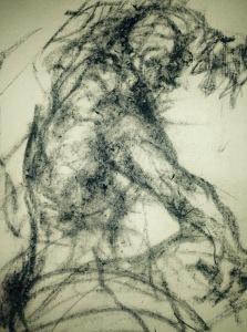 ''A Faun figure''